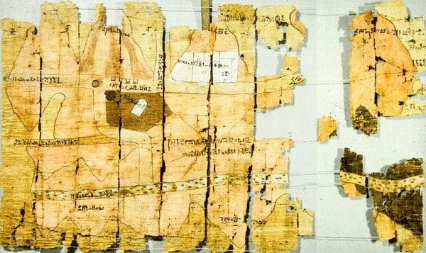Царский папирус Египетский музей в Турине