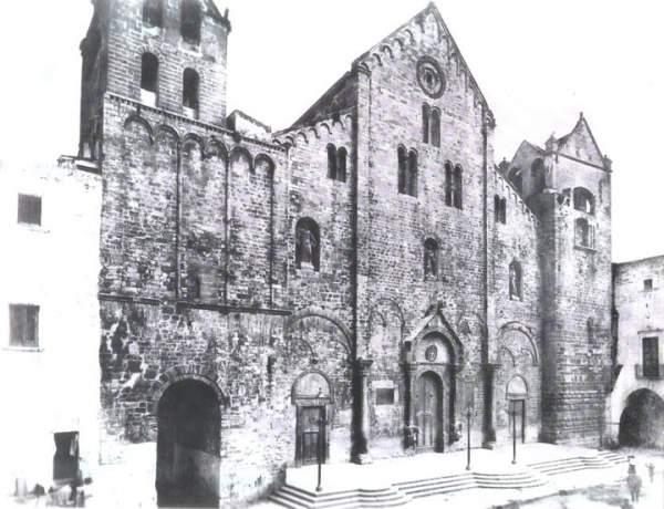 Храм св. Николая в Бари до реставрации