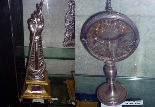 Мощи в храме св. Николая в Бари