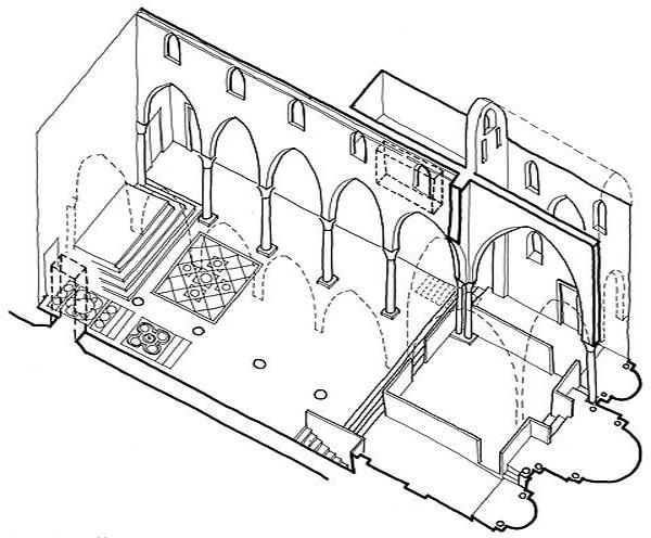 План Палатинской капеллы