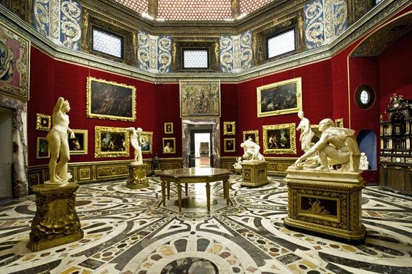 Флоренция - Галерея Уффици, зал Трибуна