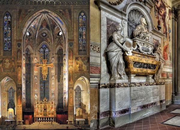 Флоренция - Церковь Санта-Кроче