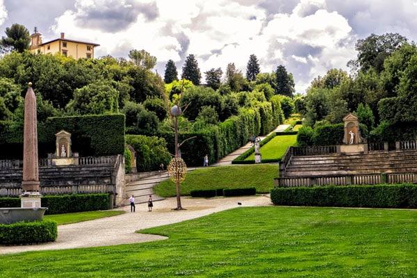 Флоренция - Сады Боболи