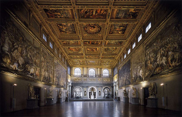 Флоренция - Палаццо Веккьо, зал 500