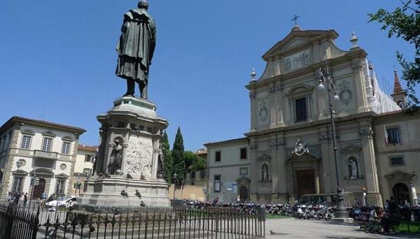 Флоренция - Площадь Сан-Марко