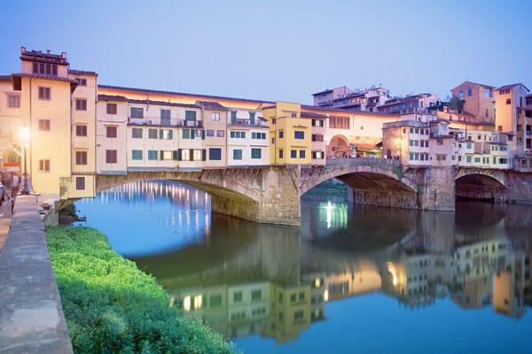 Флоренция - Мост Понте-Веккьо