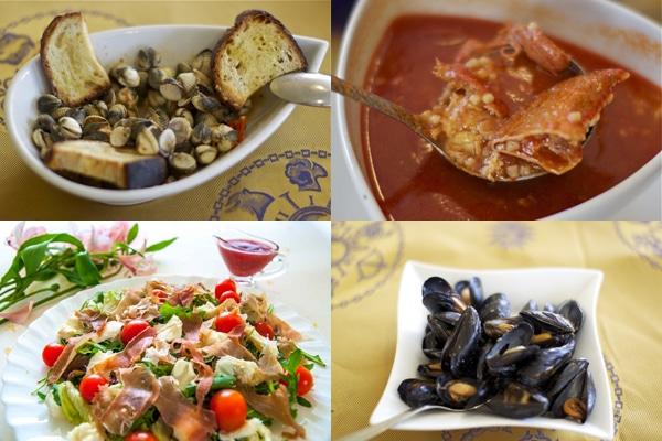 Кухня Сардинии - Закуски
