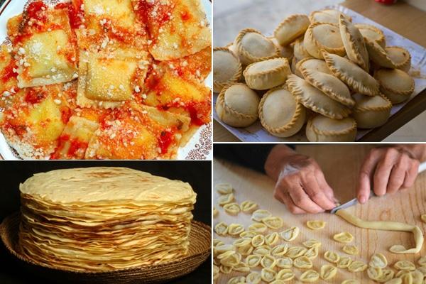 Кухня Сардинии мучные изделия