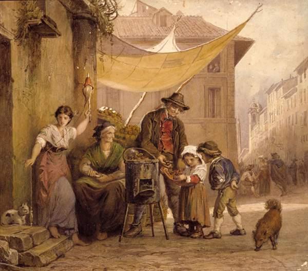 Музей Рима в Трастевере - Картина Арнольдо Корроди
