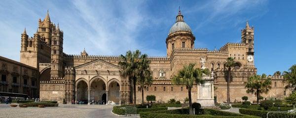 Вид на Кафедральный собор Палермо