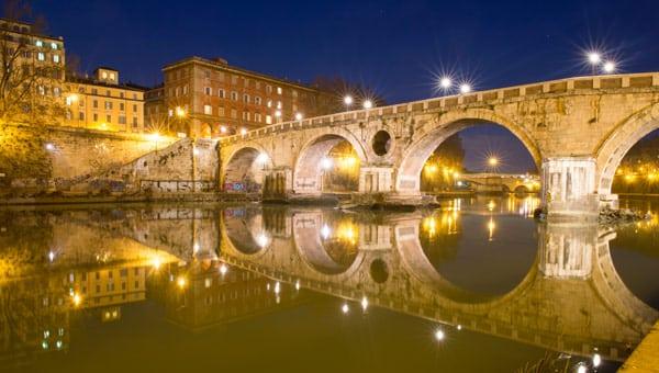 моста Сикста в Риме