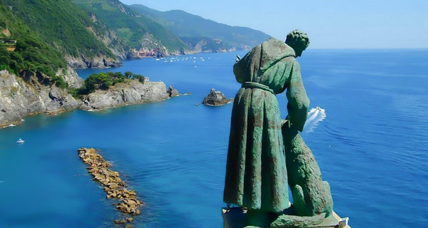 скульптура святой Франциск церковь Монтероссо