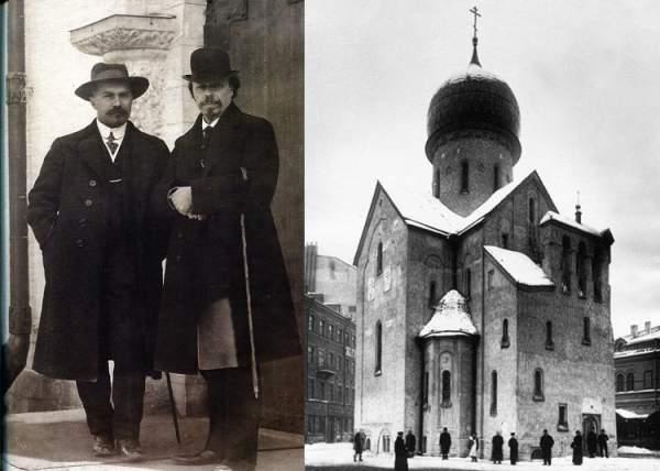 А.В.Щесев - создатель храмов в Бари и Питере
