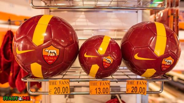 Футбольный мяч клуба Roma цена