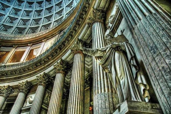 Сан-Франческо ди Паола - Статуя св. Амброзиана