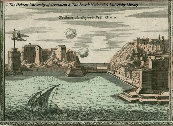 Кастель-дель-Ово изображение 18 века