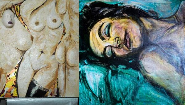 картина Федерико Феллини женщины с пышными формами