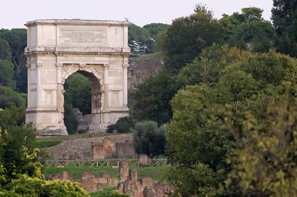 Римский форум - Арка Тита