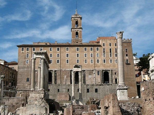 Римский форум - Табуларий