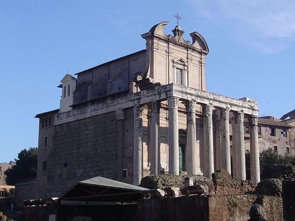 Римский форум - Храм Антония и Фаустины
