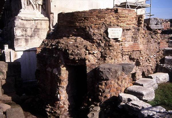Римский форум - Umbilicus urbis