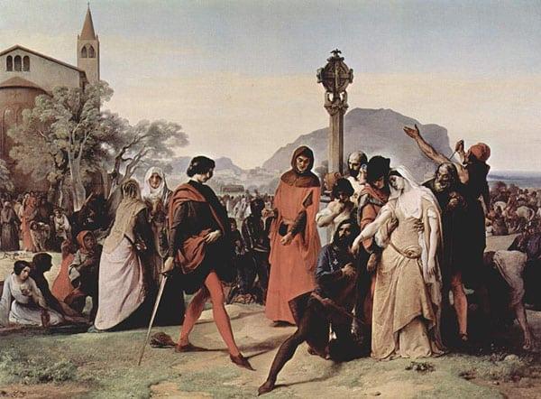 История Палермо - Сицилийская вечерня