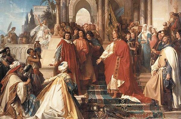 История Палермо - Суд императора Фридриха II