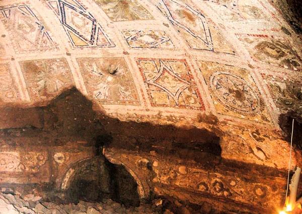 Палантинский холм пещера Ромула и Рема