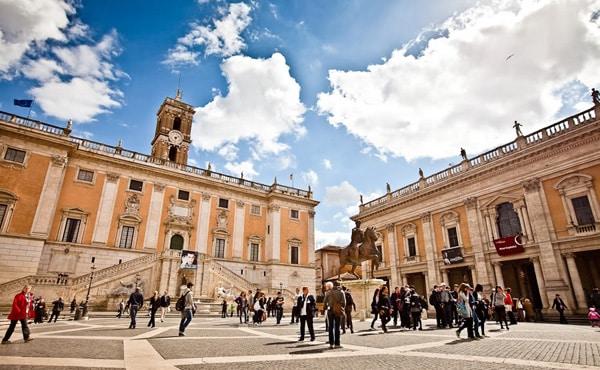 Рим день города – Капитолийский дворец