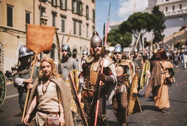 День рождение Рима - Шествие