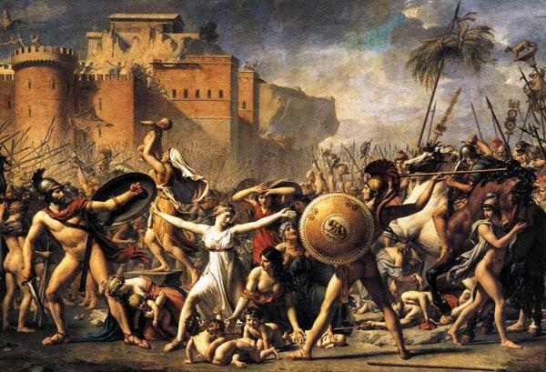 похищение сабинянок римлянами