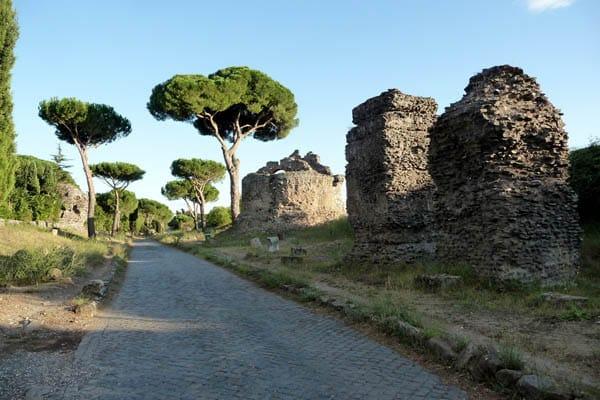 Аппиева дорога в Риме - 6 миля