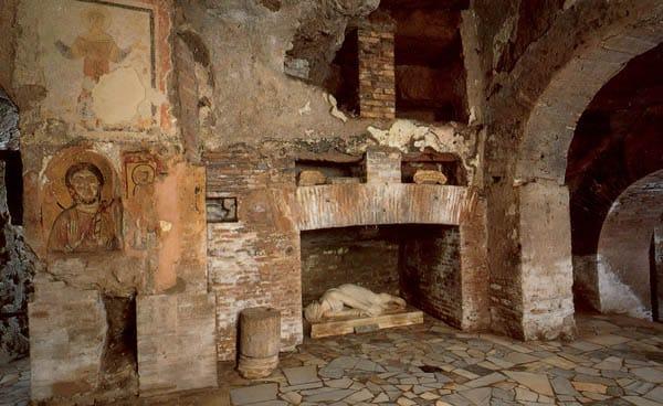 Аппиева дорога в Риме - Катакомбы святого Калиста