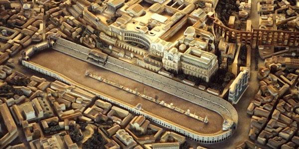 Реконструкция Большого цирка в Риме