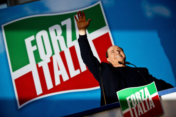 Forza Italia политическая партия Сильвио Берлускони