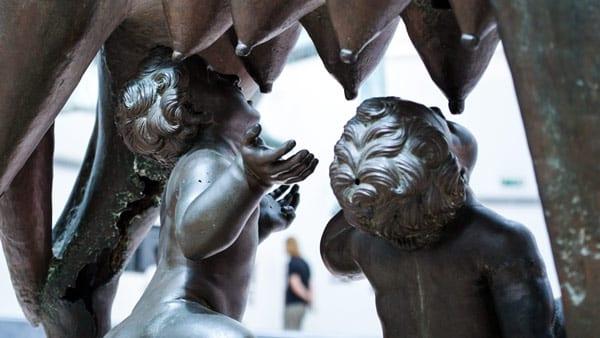 статуя капитолийская волчица бронза музей Капитолия