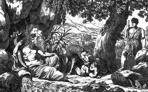 Ромул Рем братья легенда о основании Рима