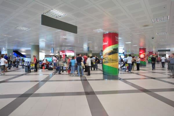 Аэропорт Палермо - Зал ожидания