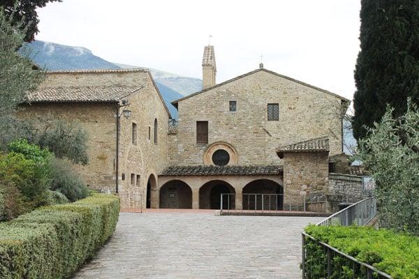 Ассизи - Церковь Святого Дамиана