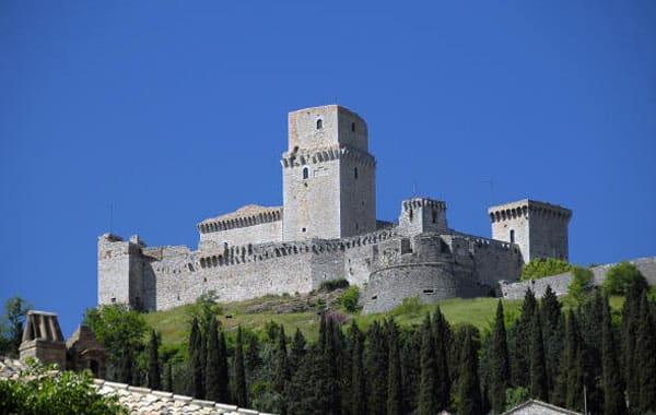 Ассизи - Большая крепость