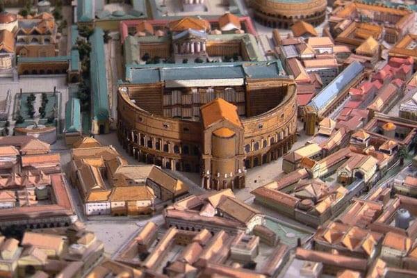Театры Рима - Театр Помпея