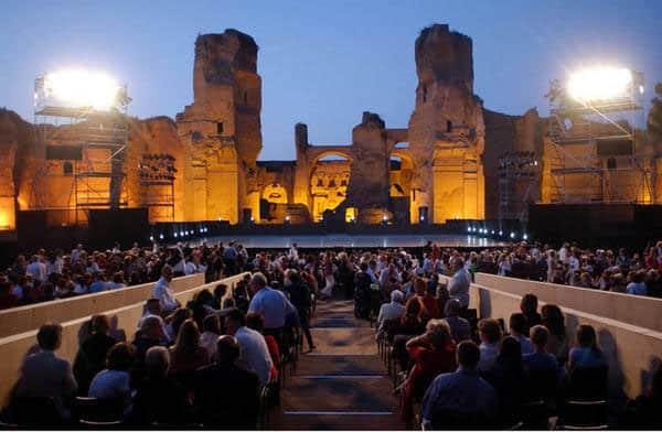 Римские театры - Термы Каракаллы