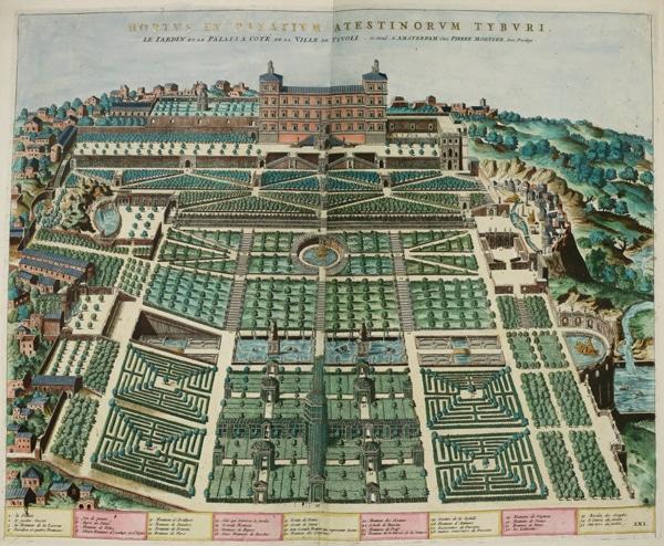 Вилла Эсте в Тиволи 1560-1575