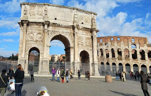 Арки в Риме - Арка Константина