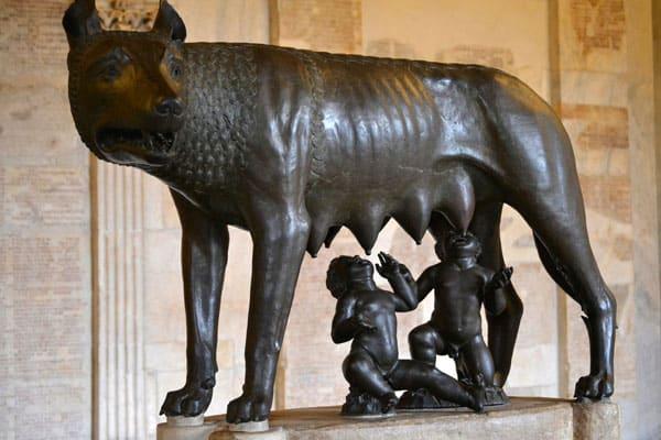 Капитолий в Риме - Капитолийская волчица