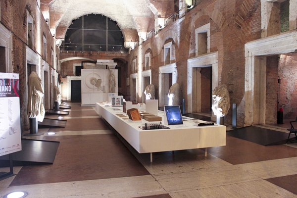 Рынки Рима - Рынок Траяна внутренний зал