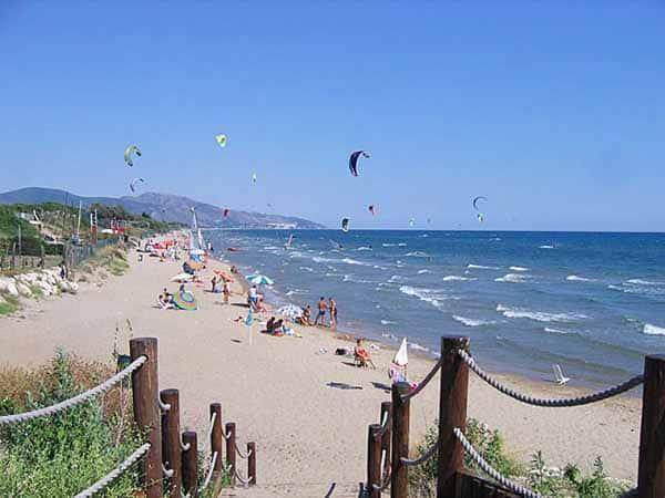 Пляжи Рима - Террачина