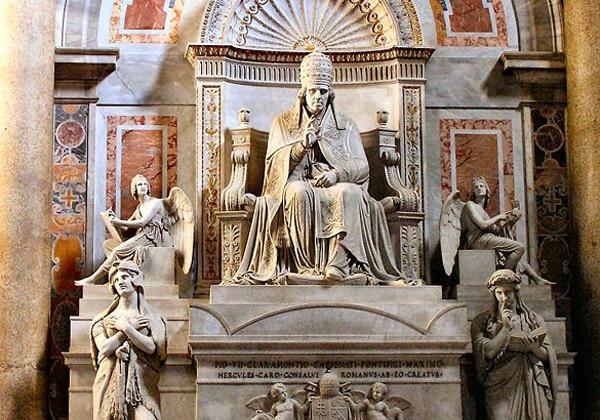Собор Святого Петра - Гробница Пия VII