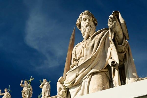 Статуя Святого Павла