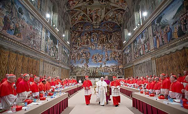Сикстинская капелла в Ватикане - Конклав